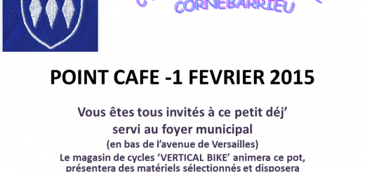 POINT CAFE - 1 FEVRIER 2015
